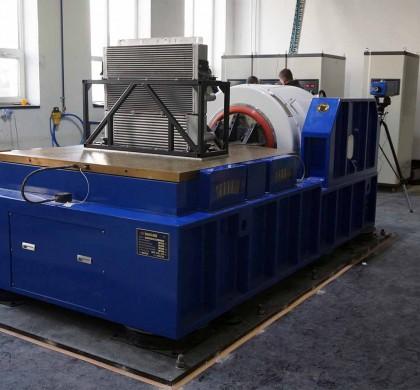 Cel mai mare Sistem de Testare la Vibratii / Shaker din Romania